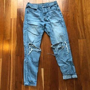 American Eagle Girlfriend/Mom Jeans